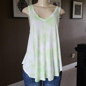 Calvin Klein Performance Shirt Tie Dye Tank Top